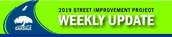 2019 Street Improvement Updates