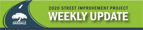 2020 Street Improvement Updates