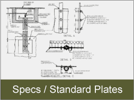 View engineering specifications and standard plates