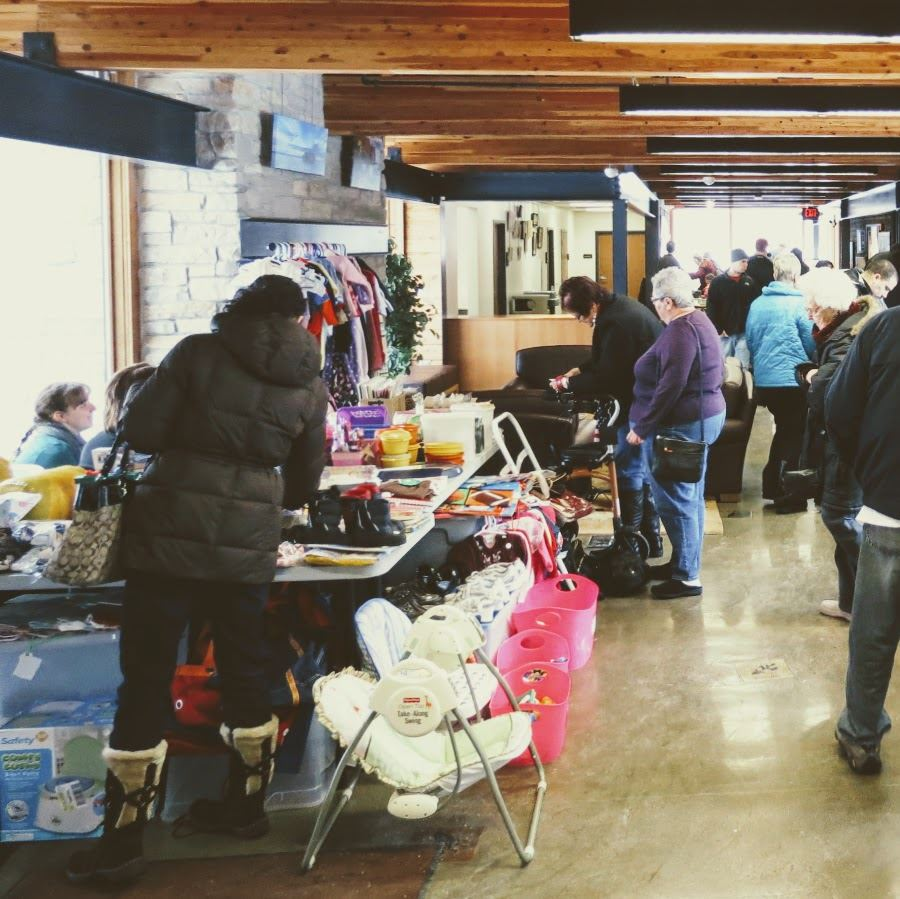 Image of Indoor Garage Sale