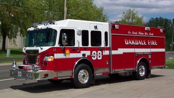 Oakdale Fire Department fire truck
