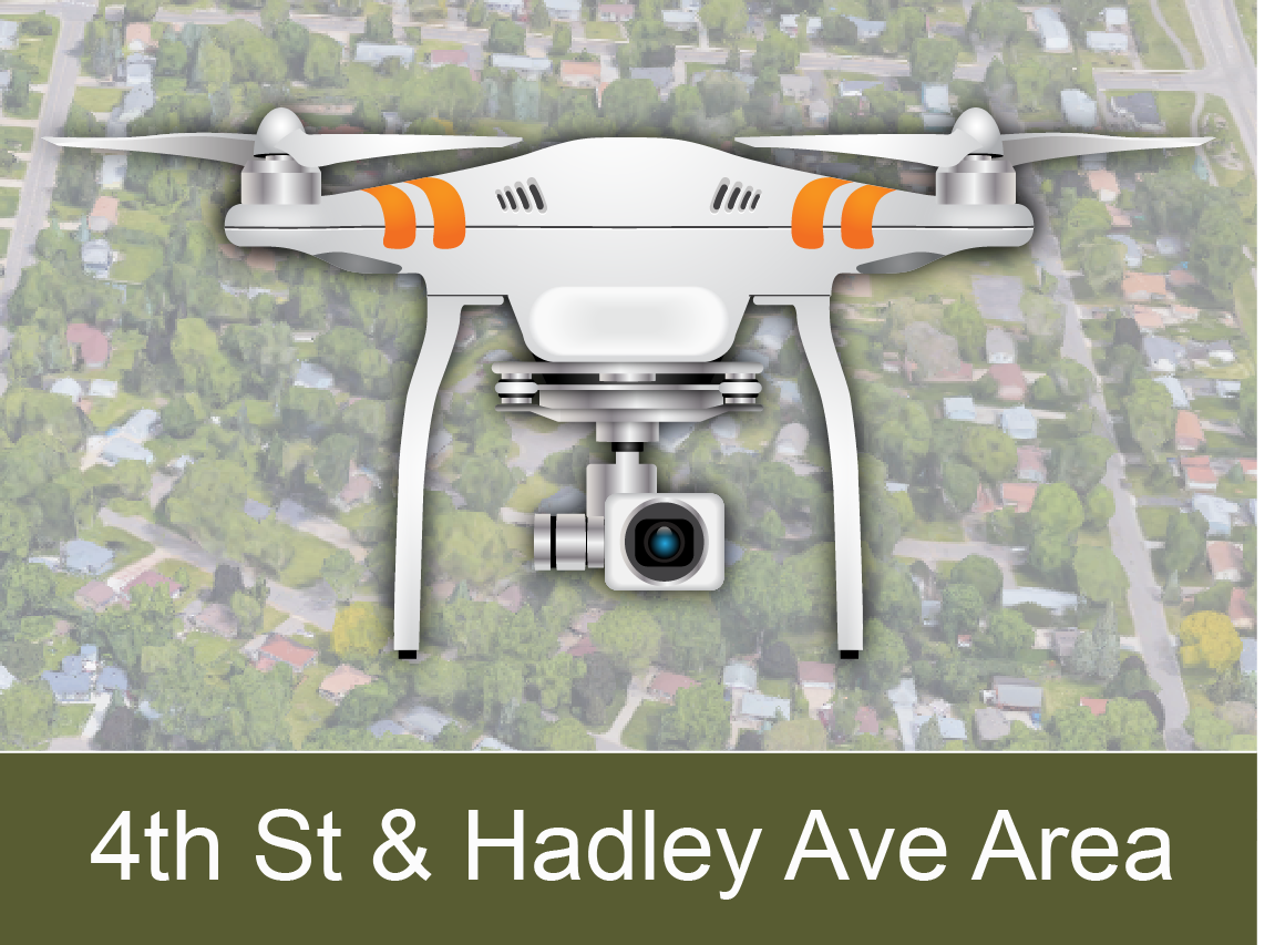 4th Street and Hadley Area Drone Videos