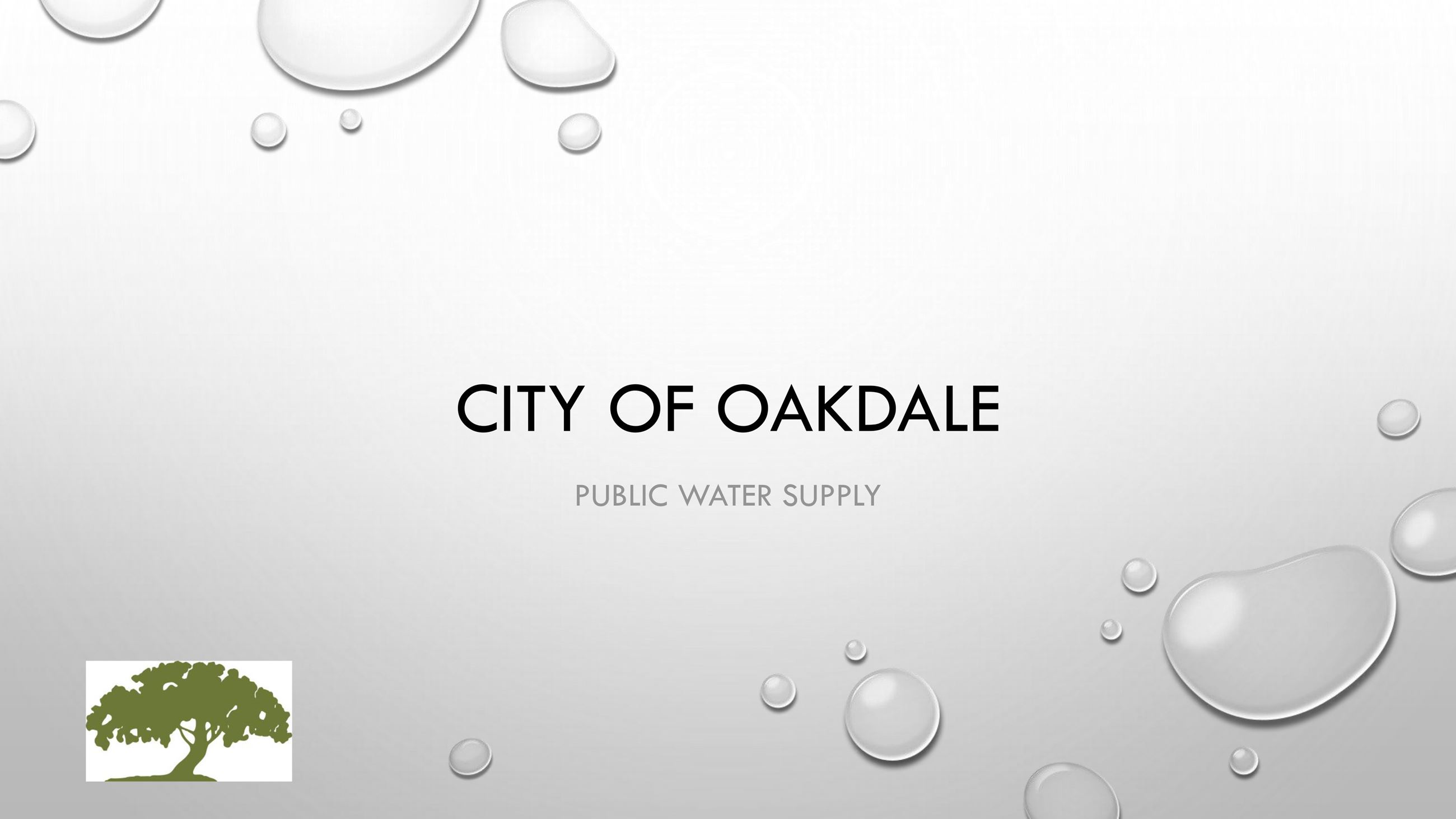 City of Oakdale PFC Open House Presentation-1