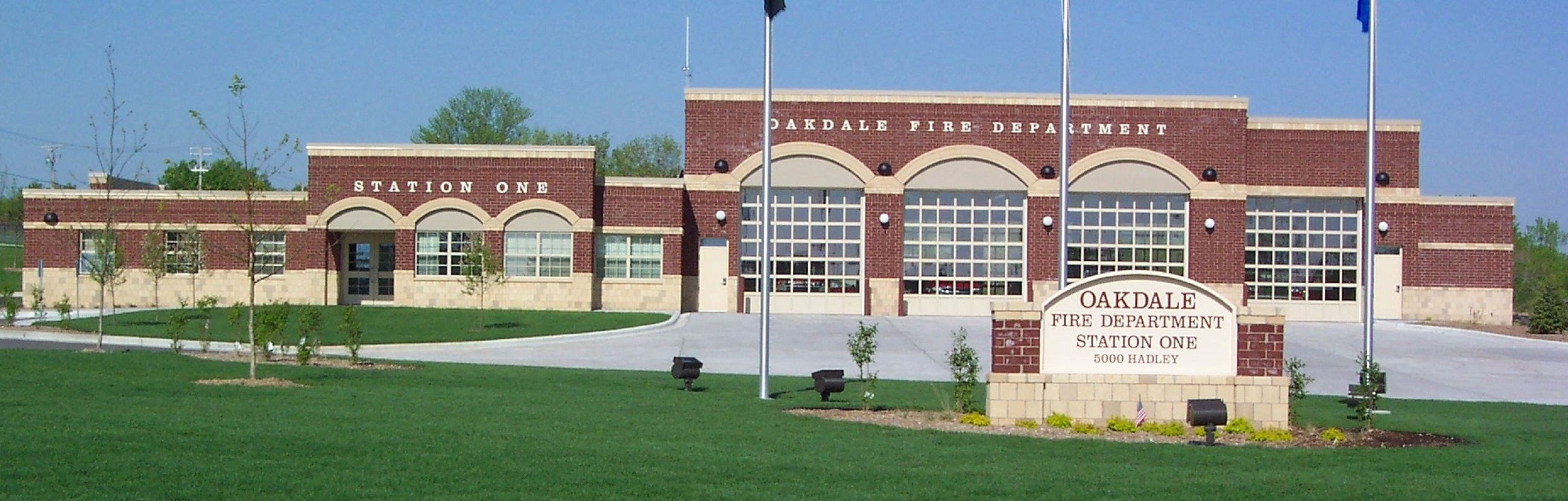 Photo of Oakdale Fire Station Headquarters located at 5000 Hadley Avenue