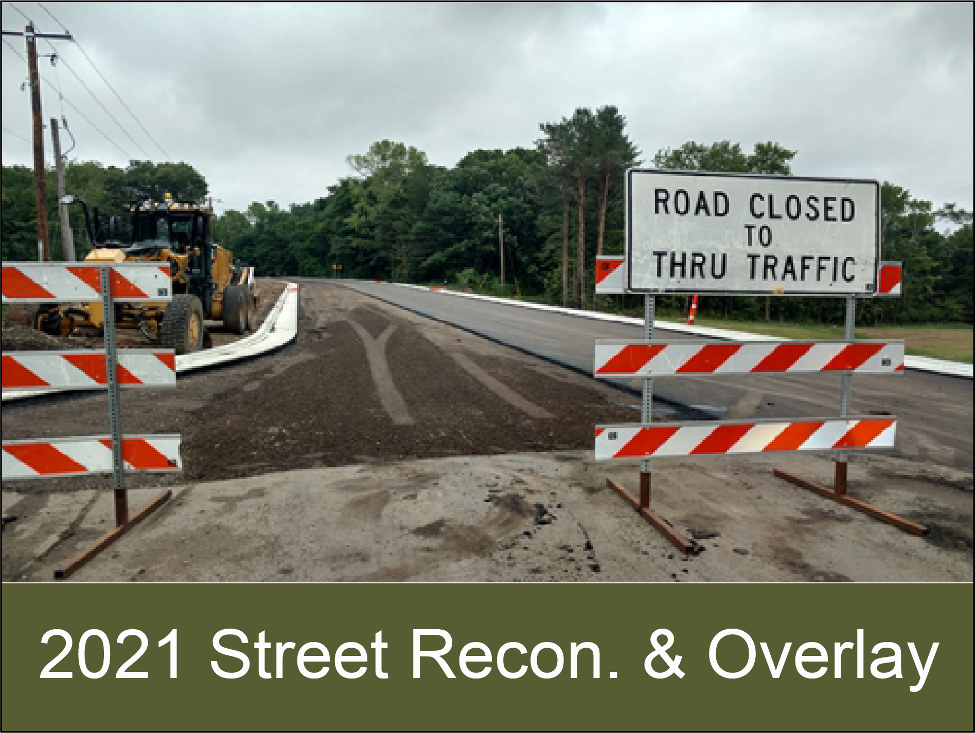2019 Street Reconstruction and Overlay