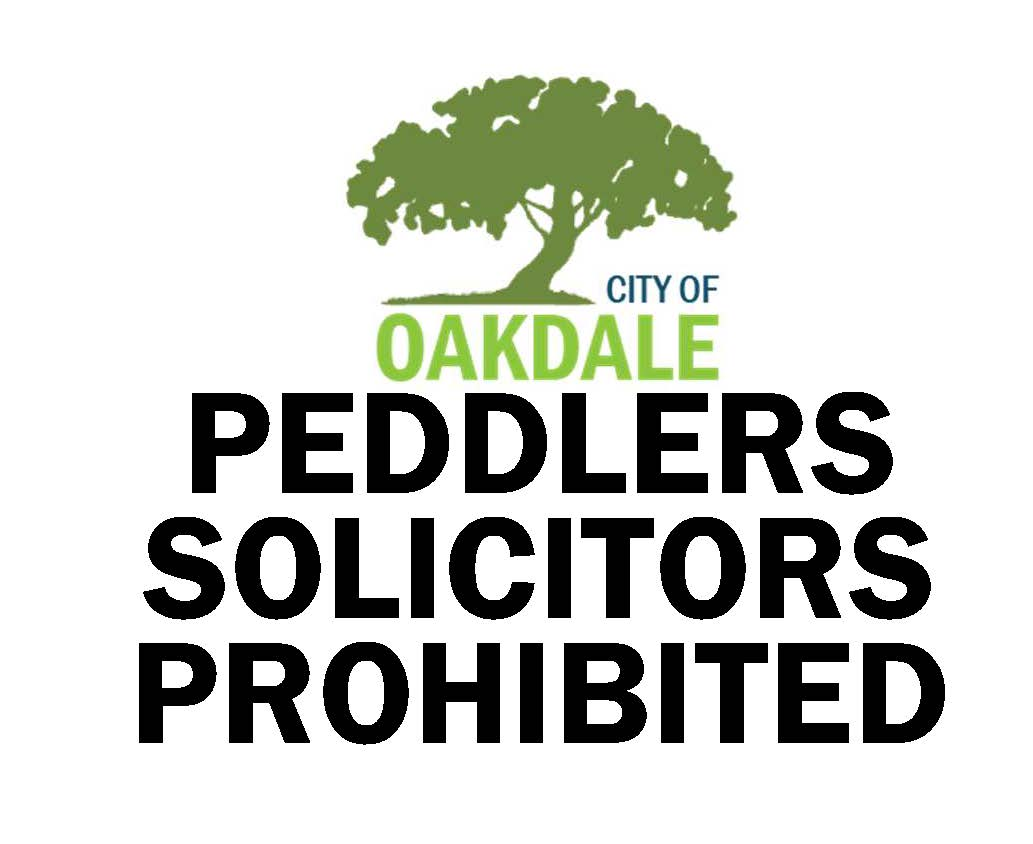no peddler or solicitor sign to post on door