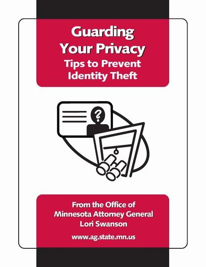 Cover of Guarding Your Privacy Brochure