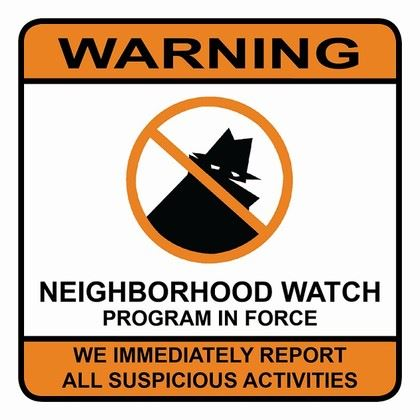 Image of Oakdale Neighborhood Watch signage