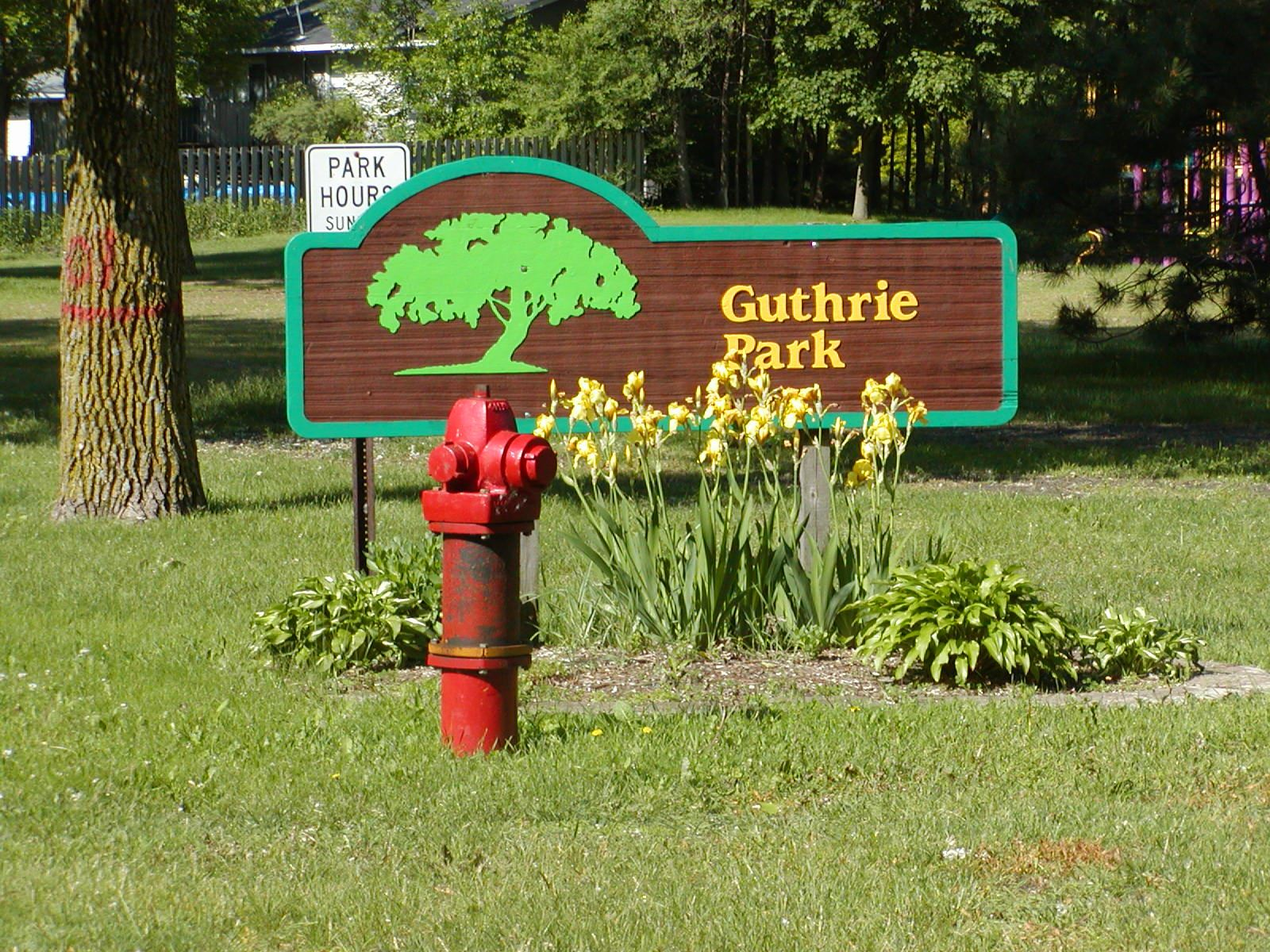 Image of Guthrie Park Sign