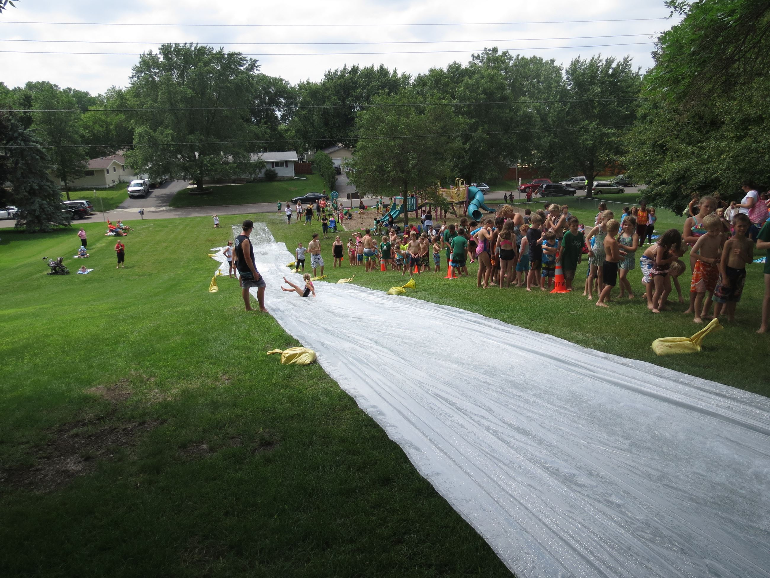 Image of Tower Park Waterslide Event