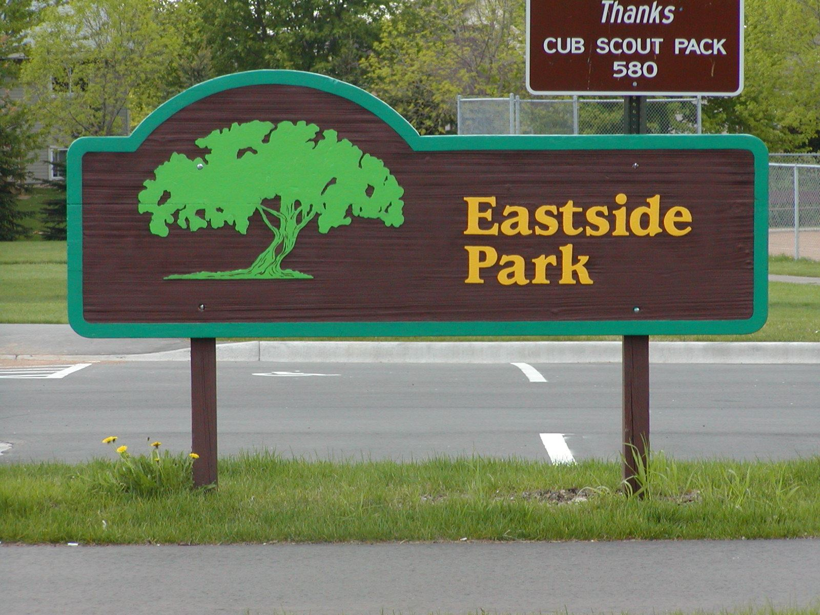 Image of Eastside Park Sign